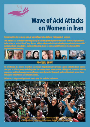 New Wave of Acid Attacks